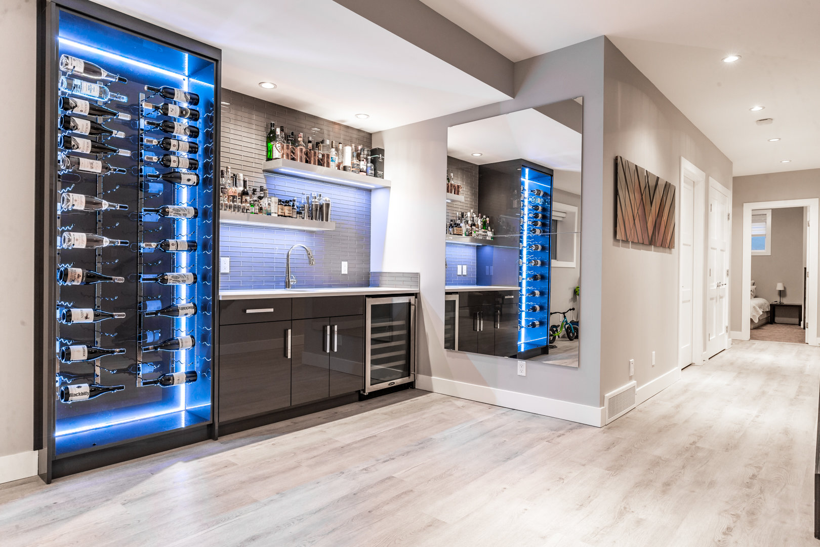 Finished or unfinished basement in Calgary