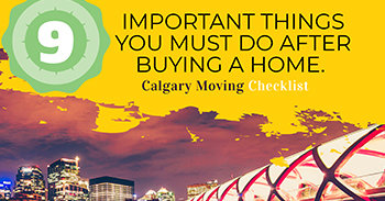Calgary Moving Checklist